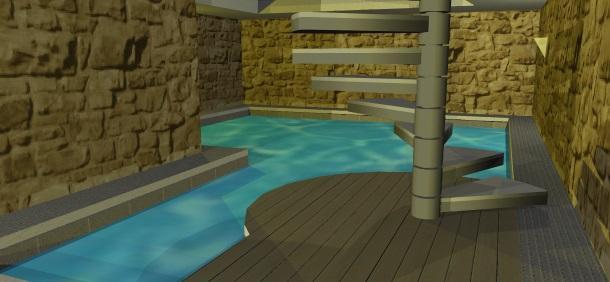 Alassio trilocale centralissimo con piscina privata - Hotel con piscina privata grecia ...